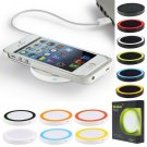 Qi Wireless Charger Charging Pad For Samsung Galaxy S6 S5 S4 Note3 Nexus  Blue Color DB