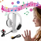 5 in 1 HiFi Wireless Headphone Earphone Headset FM Radio Monitor MP3 Audio db