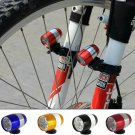 2 x Cycling Bicycle Head Front Flash Light Warning Lamp Safety Waterproof Golden