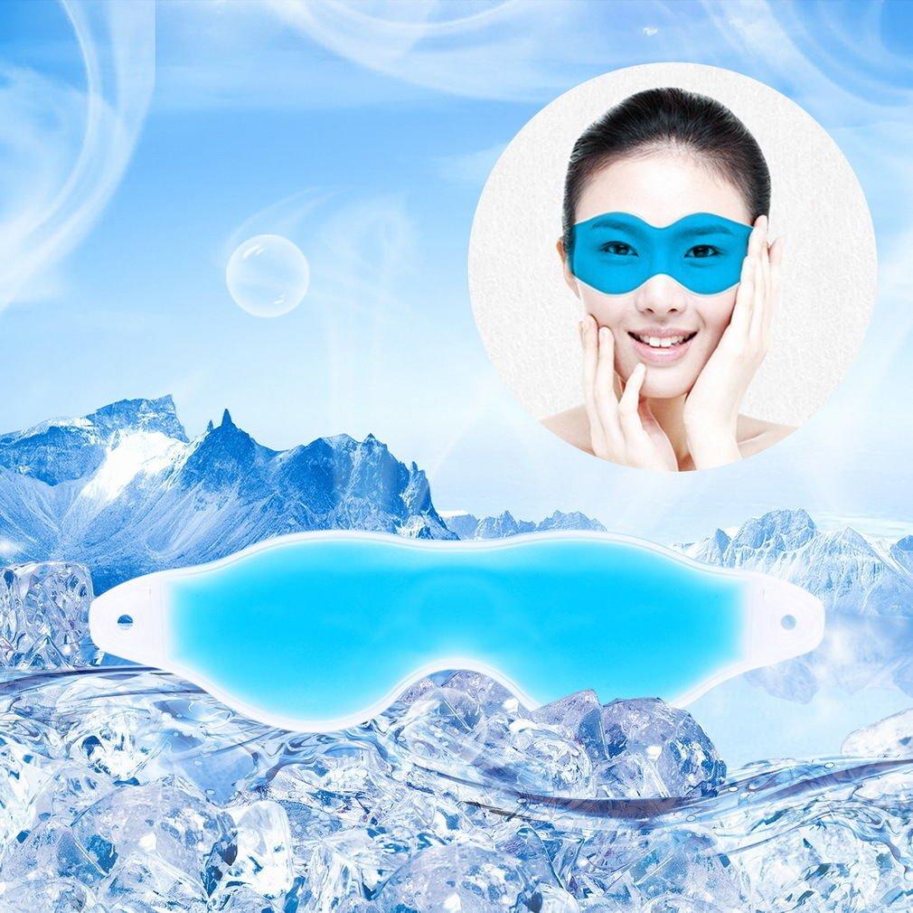 """Summer Cool Ice Eye Mask Sleep Headache Relief Goggles Eye Gel Ice goggles db"