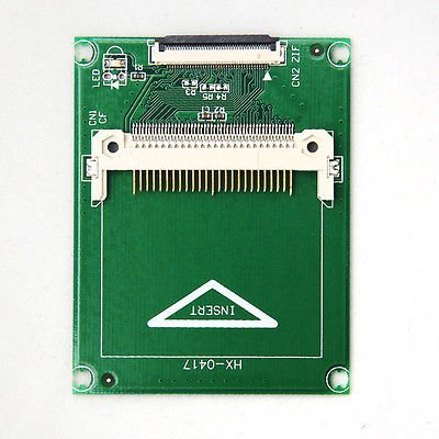 """CF to Zif 1.8"""" HDD SSD IDE Adapter for iPod Video (161115266224)"""