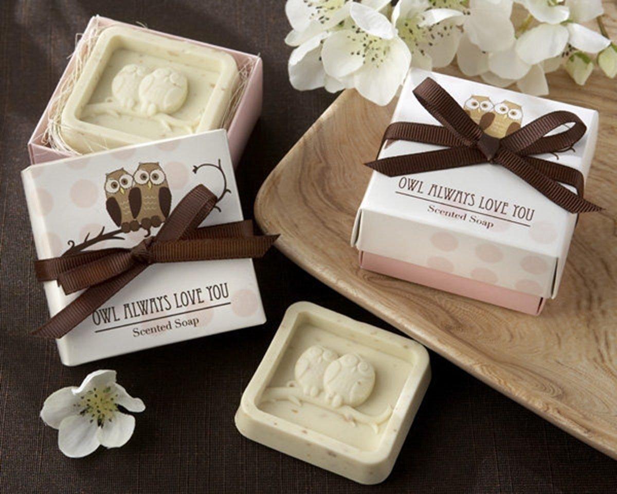 Creative Wedding Favors Bridal Party Gift Mini Scented Shower Bath OWL Soap Handmade DB