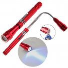 Flexible Flexi Torch Telescopic 3 LED Magnetic Pick Up Tool Light Flashlight db
