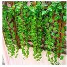 5 Pcs Fake Foliage Flower 7.5ft Artificial Ivy Leaf Garland Plants db
