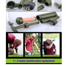 Outdoor Water Filter Purifier Soldier Army Survival Camping Hiking Travel Sport db