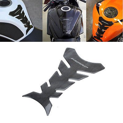 Universal Motorcycle CBR YZF GSXR Oil Tank Pad Fish Bone Protector Decal Sticker db