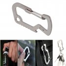 EDC Carabiner Survival Camping Hiking Rescue Gear Keychain Bottle Opener Tool db