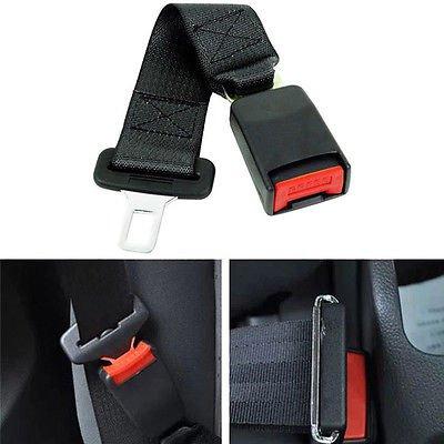 "14"" Universal Car Auto Seat Seatbelt Safety Belt Extender Extension 7/8"" Buckle db"