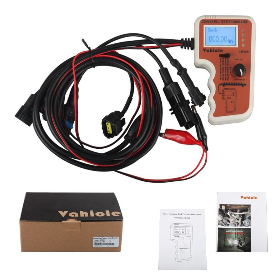 CR508 Common Rail Pressure Tester and Simulator Diagnostic kit db