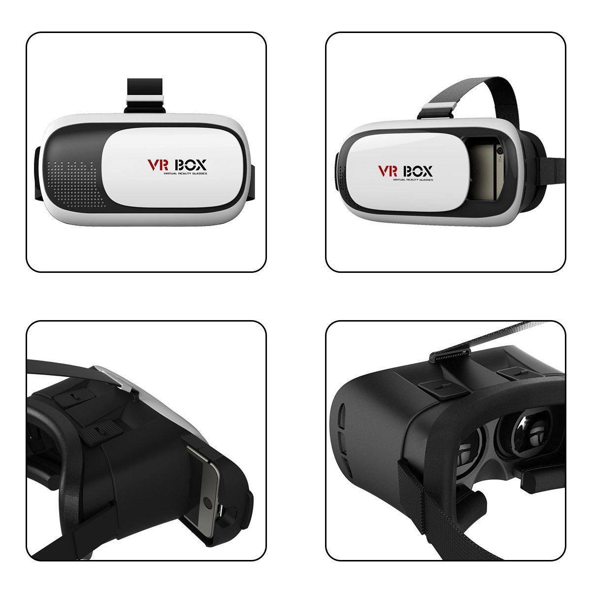 Google Cardboard 2nd Gen VR BOX Virtual Reality 3D Glasses