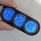 Multi-function Car Auto Vehicle In/Out LCD Thermometer Backlight Calendar Clock db