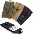 Tactical Military Molle Smartphone Pouch  for Smart phones Khaki Color 1 Pcs