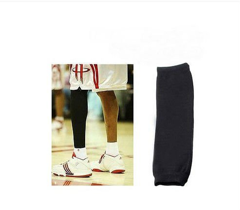 Basketball Sport Compression Leg Knee Long Brace Sleeve Sleeves Protector 1 Pair db