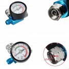 "Air Inlet 1/4""Digital Spray Paint Gun Regulator Air Pressure Gauge HVLP 0-140PSI dbbb"