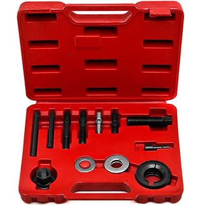 12Pcs Power Steering Remover Alternator Pulley Puller Installer Extractor Tools dbb