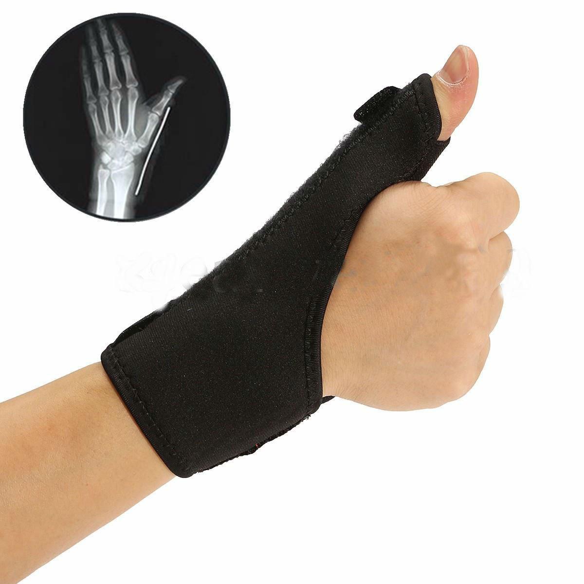 Medical Wrist Thumb Hand Spica Splint Support Brace Stabiliser Sprain Arthritis ddb