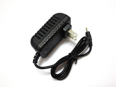 """Power Adapter Wall Charger for iRULU 9"""" Quad Core Android 4.4 KitKat Tablet US db"""