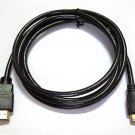6Ft Mini HDMI to HDMI Cable for NIKON COOLPIX L810 P100 P300 P310 Camera to TV NN