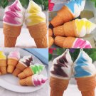 5 Pcs 10cm Ice Cream Jumbo Squishy Cake Phone Straps Bread Colossal Slow Rising Charms gh