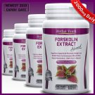 3 Bottles FORSKOLIN CAPSULES Pure Coleus Forskohlii EXTRACT Standardized 20% 2000mg Daily fg