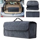 Car Trunk Cargo Organizer Collapsible Bag Storage Pocket Box Case Holder gb