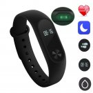 Band M2 Smart Watch Bracelet Heart Rate Monitor Fitness Tracker IP67 Waterproof gg