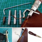 5 In 1 DIY Leather Adjustable Stitching Groover Crease Leather Tools Lot Set Kit gg