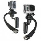 Black Mini Handheld Camera Stabilizer Video Steadicam Gimbal For GoPro Hero 3+ 4 hhh