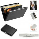 Credit Card ID Holder Slim Money Travel Wallet Stainless Steel Box Case for Men gg