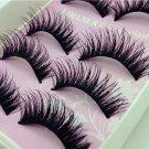 5 Pair  False Eyelashes Handmade Beauty make Up