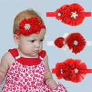 Cute Baby Girl Headband Hair Ribbon Band Accessories Flower Headwear ff