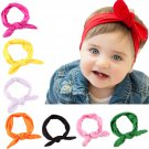 8pcs Kids Girl Baby Headband Toddler Lace Bow Flower Hair Band Accessories ff