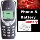 Refurbished FACTORY UNLOCKED Nokia 3310 MOBILE PHONE GSM Sim Multi Languages Phone