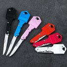 Mini Pocket Knife Folding Blade Key Shape Outdoor Camping Fishing Survival ltt