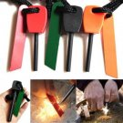 Magnesium Flint Stone Fire Starter Lighter Emergency Survival Camping Gear Kittt