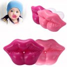 2 x Funny Cute Baby Kids Kiss Silicone Infant Pacifier Nipples Dummy Lips Pacifie
