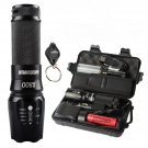 20000lm CREE LED tactical Shadowhawk X800 Flashlight Zoomable Military TorchHHH
