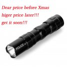 Mini 5000lm Q5 LED Tactical Shadowhawk X800 Flashlight Aluminium TorchHHH