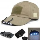 Clip On 5 LED Head Cap Hat Light Head Lamp Torch Clip On 5 LED Head Cap Hat Light Head Lamp Torchhh