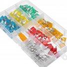 120pcs Mini Blade Fuse Assortment Set Auto Car Motorcycle SUV FUSES Kit APM ATM vv