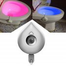 Human  Body Motion Activated Seat Sensor LED Toilet Bowl Night Light Lamp 8 Color