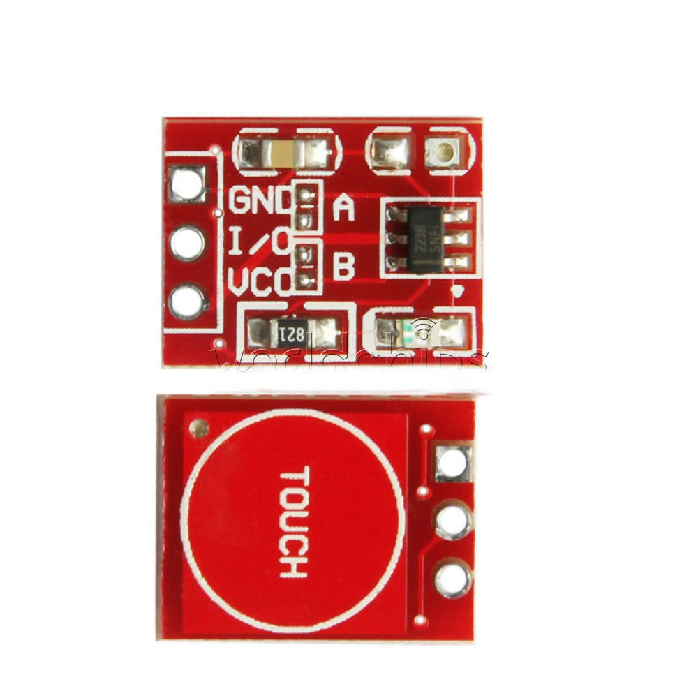 10PCS TTP223 Capacitive Touch Switch Button Self-Lock Module Sensor for Arduino D