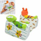 Baby Infant Airflow Sleep Positioner Anti Roll Pillow Cute Animal Style