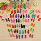 80pcs 40 Pairs Different High Heel Shoes Boots For Barbie Doll Clothes Dresses,,