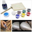 Car Seat Home Sofa Coats Scratch Cracks Rips Liquid Leather Repair Tool Kit ..