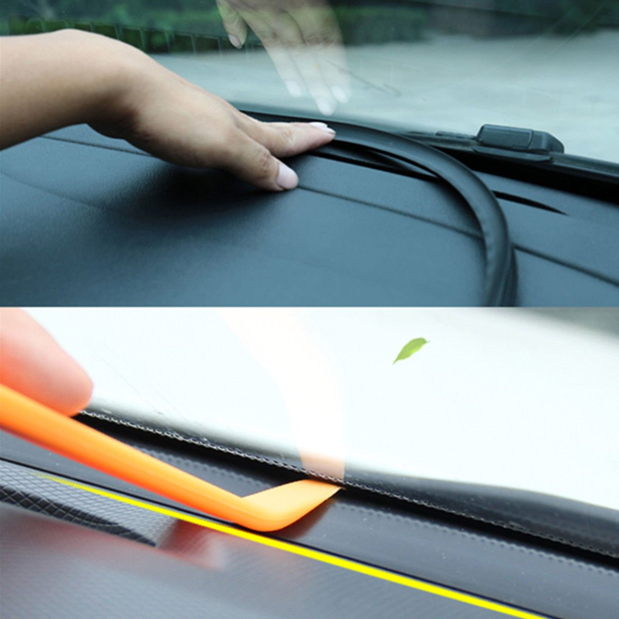 Car Dashboard Sealing Strips Styling Stickers Universal Car Interior Accessoriessss.