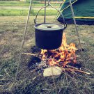 Caping Cooking Tripod for Camp Fire Dutch Pot Pan Holder