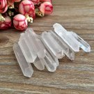 100g Natural Clear Point Quartz Crystal Raw Stone Terminated Wand Specimen