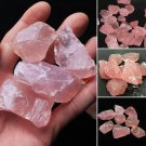 3 x Natural Raw Pink Rose Quartz Crystal Stone Specimen Healing Natural Stones