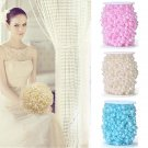 5M Wedding Pearl Acrylic Wedding Party Decoration Pink color x3